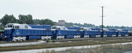 New DE U30Cs in Haselton